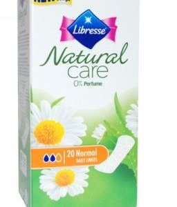 Absorbante Zilnice LIBRESSE 20 Buc Ultra Natural Care
